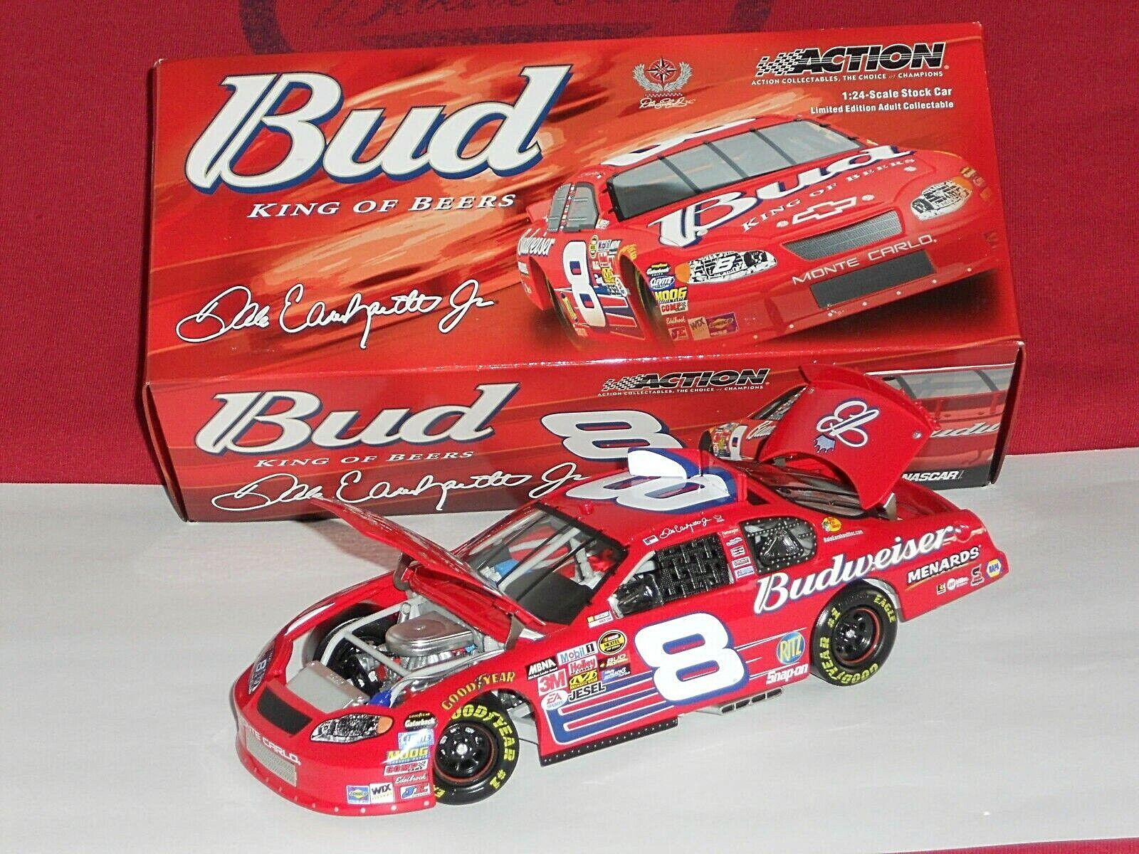 Dale Earnhardt Jr Action 1 24 2005 Budweiser Paint Scheme
