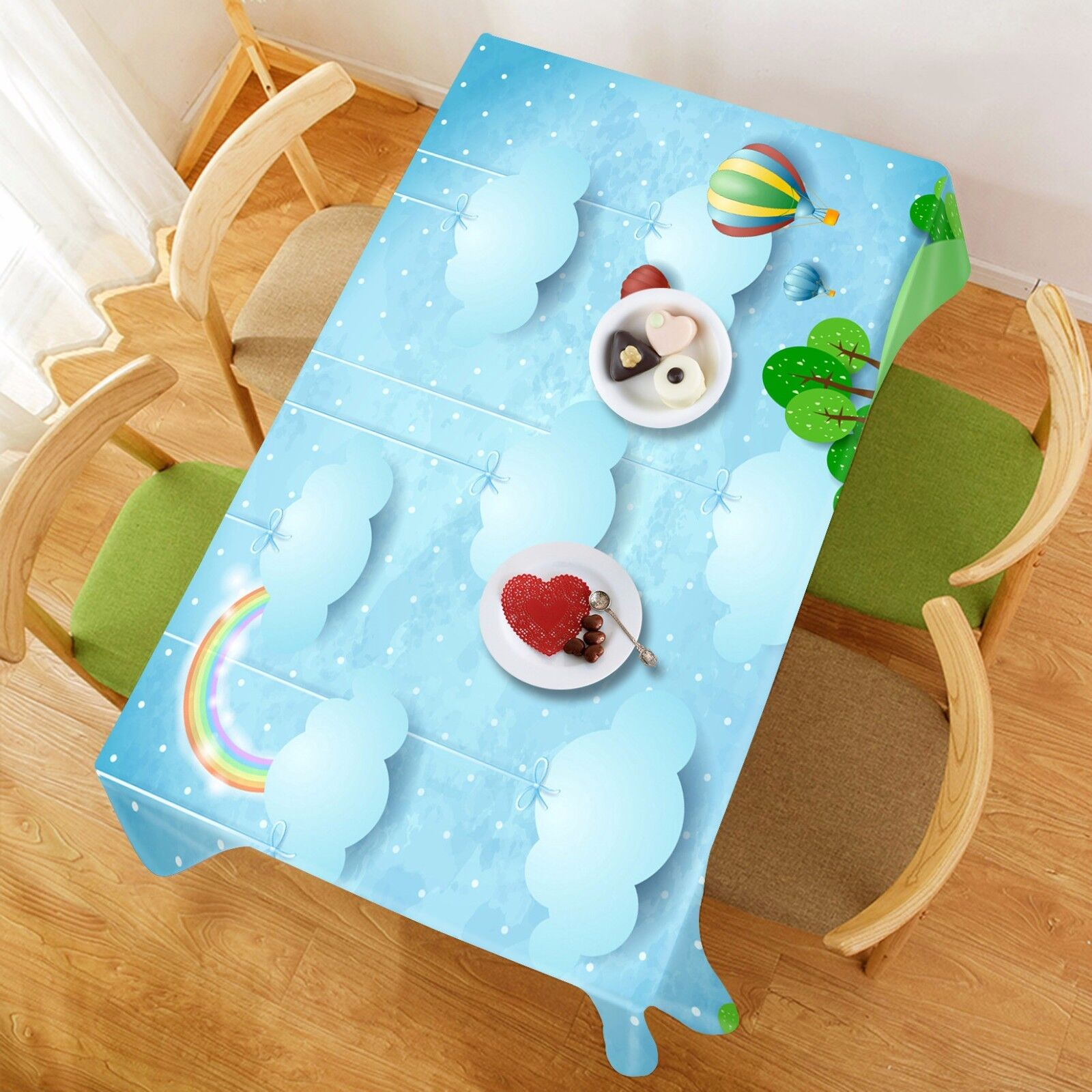 3D Clouds 978 Tablecloth Table Cover Cloth Birthday Party Event AJ WALLPAPER AU