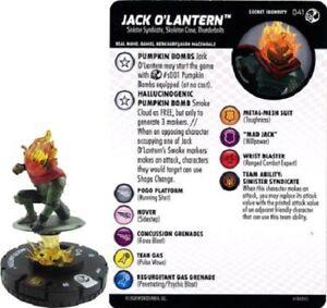 JACK O/'LANTERN 041 Spider-Man and Venom Absolute Carnage Marvel HeroClix Rare
