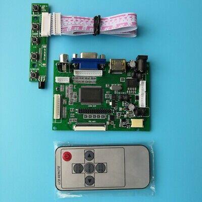 """HDMI VGA 2AV 50PIN TTL LCD Controller Board for 9"""" Vehicle display AT090TN10"""