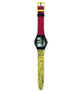 Swatch-Claudia-Cariera-039-s-Lisa-Fan-Mona-Lisa-Mint-Condition-GZ280