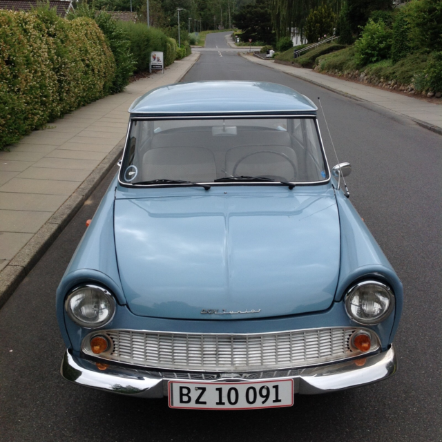 DKW Junior, Benzin, 1961, lysblå, 2-dørs, DKW JUNIOR…