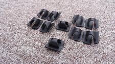 Ford Bonnet retén de Aislamiento Clips Para Capó Amortiguador De Sonido 10PCS