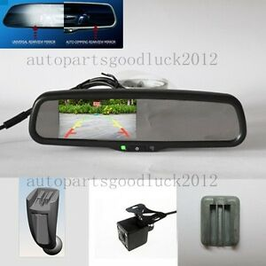 auto dimming rearview mirror 4 3 reversing display fit. Black Bedroom Furniture Sets. Home Design Ideas