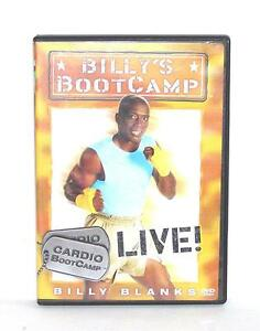 dvd video exercise routine billy 39 s boot camp cardio bootcamp live 18713505415 ebay. Black Bedroom Furniture Sets. Home Design Ideas