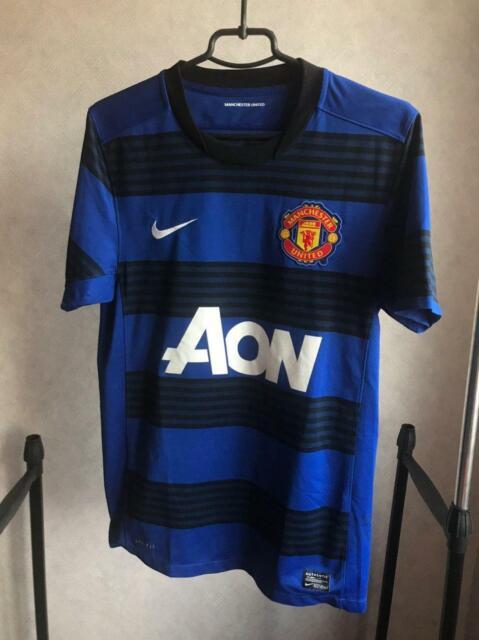 Manchester United 2011/12 NIKE AON Away shirt jersey   eBay