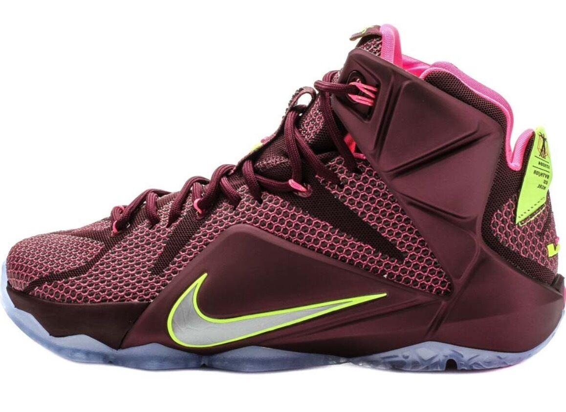 Hombres nike LeBron Talla James XII Basketball Shoe Talla LeBron 10,5 de doble hélice, el mas popular de zapatos para hombres y mujeres 5f9c15