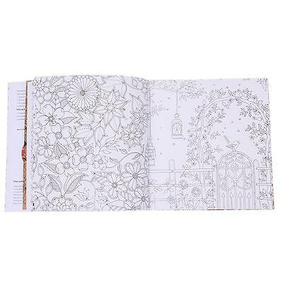 Adult Kids English Version Of The Secret Garden Coloring Book Gifts 20 Pages W