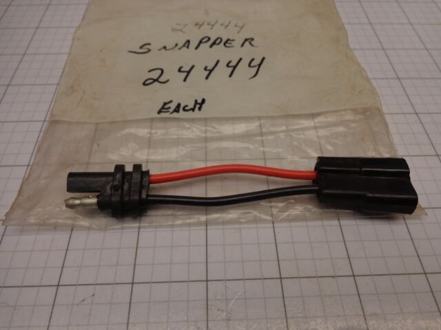 snapper 24444 battery adapter wiring harness plug aka 7024444 7024444yp