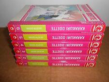 Karakuri Odette Vol. 1-6 Manga Graphic Novel Book Complete Lot in English