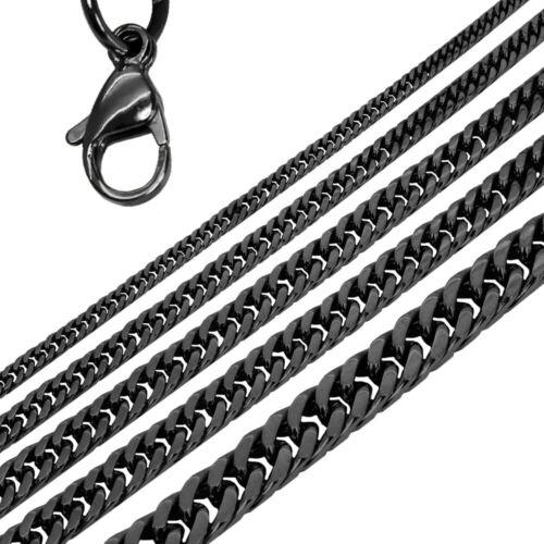 Set Halskette Armband Panzerkette Gliederkette Königskette Herren Edelstahl