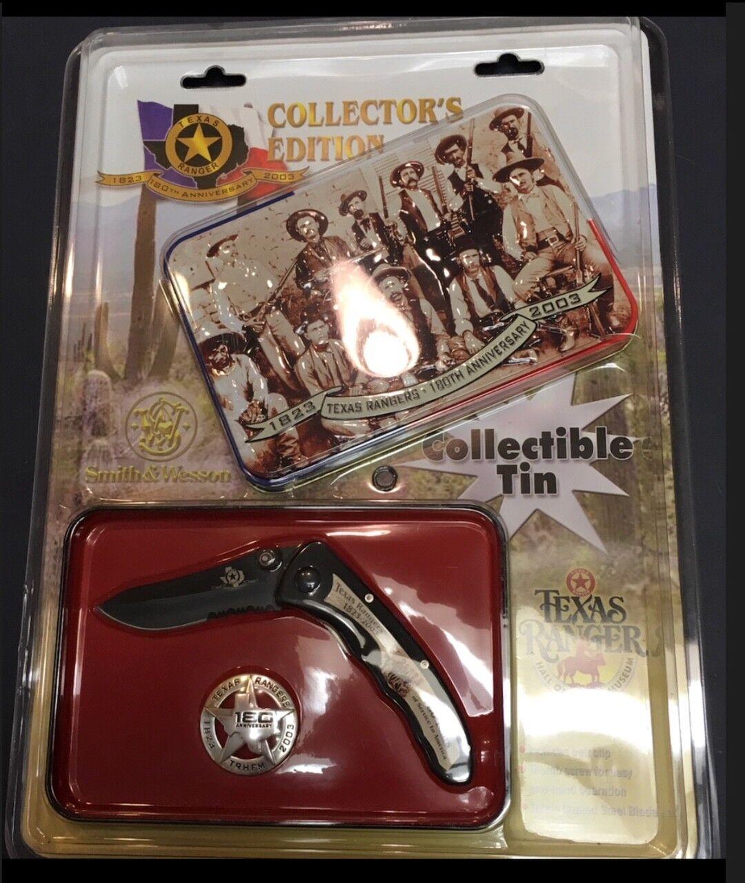 barato y de alta calidad Texas Ranger 180th Aniversario Coleccionistas Lata Lata Lata Caja de almacenamiento, edición 2003.  diseños exclusivos
