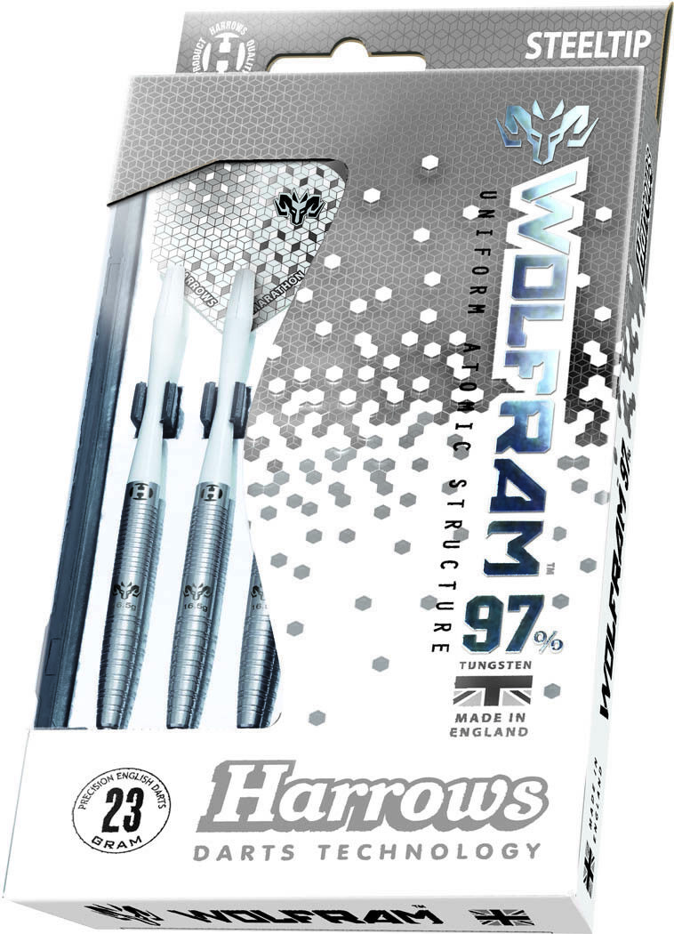Harrows Wolfram 97% Tungsten Darts – 24g