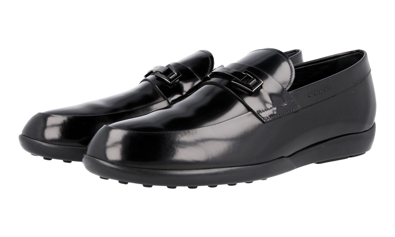 Auth TOD'S Bit Mocasín Zapatos XXM 0 ZG 0 Q 740 AKTB 999 Negro Nuevo 11,5 45,5 46