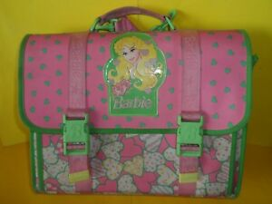 selezione migliore 04b45 4821a Dettagli su Cartella scuola school bag anni 80 90 barbie superstar rara  cancelleria vintage