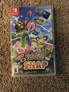 Pokemon Snap (Nintendo Switch, 2021) Game w/ Case
