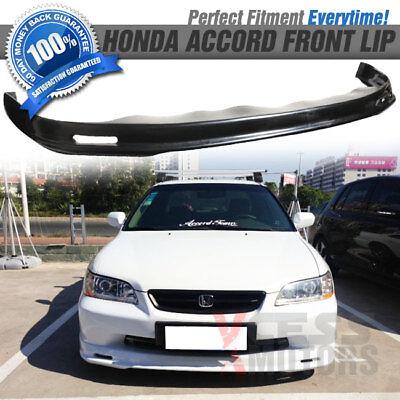 PP Fits 98-02 Honda Accord Sedan Mugen Style Front Bumper Lip Spoiler