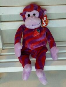 TY Beanie Baby Twisty Monkey Exclusive at Walgreens NEW w/tag protector