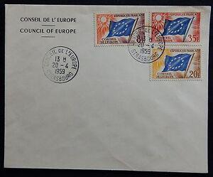 86H* Enveloppe Service-Conseil de l'Europe 1959 L2S530Va-07142644-758374775