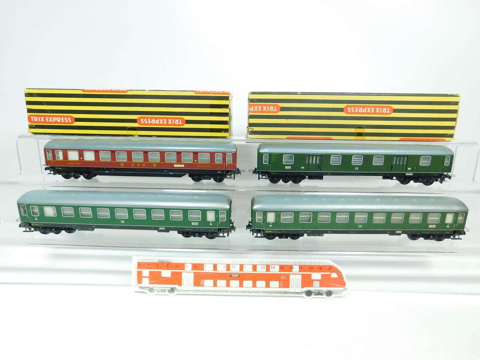BP749-2 x Trix Express H0 Dc Car  A4üm 397 Db +20 173 DSG , Good