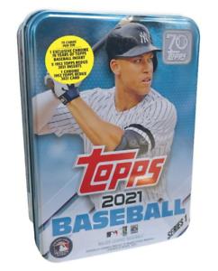 2021 Topps Baseball Series 1 Aaron Judge Collectible Tin - New Sealed