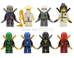 Lego Ninjago Sets Master Wu Kai Cole Nya Lloyd Zane Jay Model ... a4e4552614079