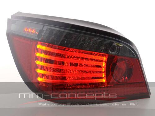 DEL Feux arrières pour BMW 5er Berline Type e60 noir//rouge 560 L 560x m5