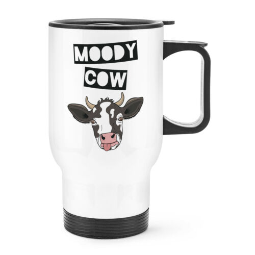 Funny Joke Wife Girlfriend Valentines Day Moody Cow Travel Mug Cup With Handle