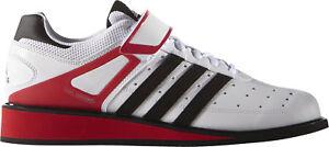 Adidas Power Perfect 2.0 Herren Gewichtheberschuhe Weiß UK