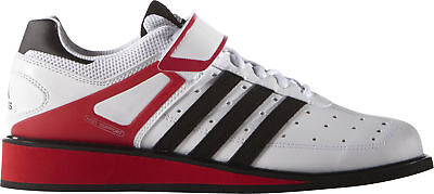 Adidas Power Perfect 2.0 Mens Weight Lifting Shoes - White Uk 13 - 15