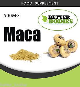Maca-500mg-Sexual-health-libido-aphrodisiac-Stamina-Hot-Flushers-menopause