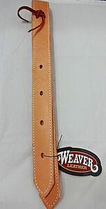 Stitched BLACK Leather Off Side Billet for Western Horse Saddle New Tack