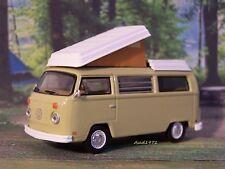 1970 VW VOLKSWAGEN T2 WESTFALIA BUS CAMPER VAN COLLECTIBLE MODEL - 1/64 DIORAMA