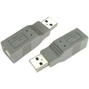 USB-2-0-CLASE-A-Macho-a-Tipo-B-adaptador-hembra-adaptador