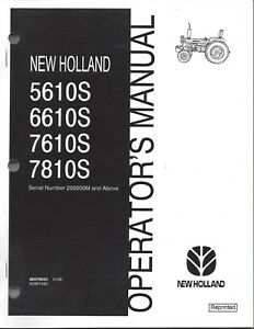 FORD-NH-5610S-6610S-7610S-7810S-above-SN-Tractor-Operators-Manual-86579555