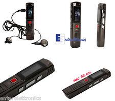 REGISTRATORE AUDIO VOCALE PORTATILE MP3 USB DIGITALE VOICE RECORDER