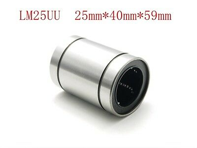 1PC LM25UU 25mm Linear Ball Bearing Bush Bushing 25X40X58(MM)