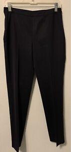 Lafayette 148 New York Bleecker Straight Leg Dress Pants Size 2