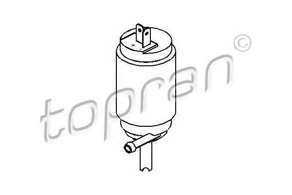 TOPRAN 103 630 Water Pump, window cleaning