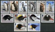BAT Brit Antarctic Territory 2018 MNH Penguins Definitives 12v Set Birds Stamps