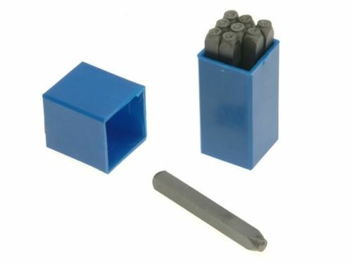 """Priory 180-2 mm Set of Number METAL timbres poinçons 5//64/"""" PRI1802"""