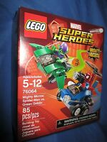 Marvel Super Heroes Lego Minifigure Mighty Micros 76064 Green Goblin V Spiderman