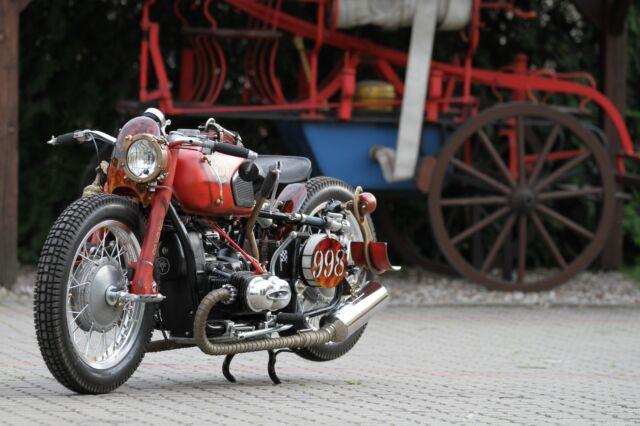 Dnepr BMW M72 Fire Bike Einzelstück Custom Harley