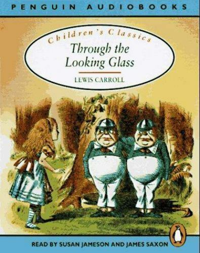 Alice in Wonderland & Through The Looking Glass- Lewis Carroll- Audiobook tapes