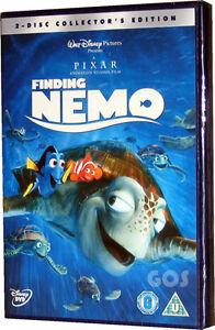Finding-Nemo-2-Disc-Collectors-Edition-Walt-Disney-Pixar-Film-DVD-New-UNSEALED