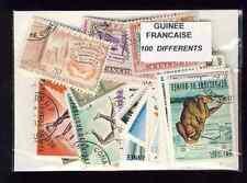 Guinée Française - French Guinea 100 timbres différents