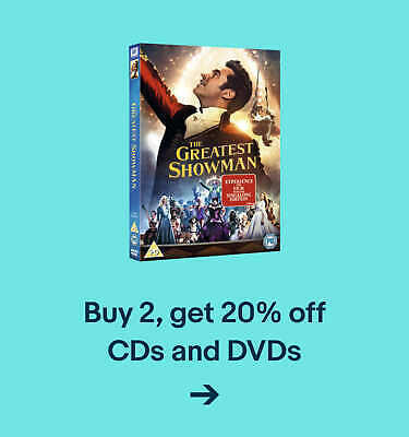 Buy 2, get 20% off CDs and DVDs