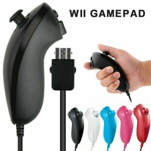 Wii Nunchuck Remote Console Nunchuk for Nintendo Wii/ Wii U Game Controller US