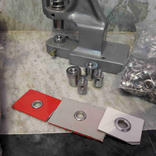 Craft Hand Press Machine For Fixing Eyelets Garments And Stationary With 3 Dies