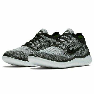 Nike Free RN Flyknit 2018 Running Shoes White Black Oreo 942838-101 Men's  NEW | eBay